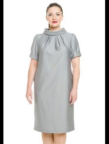 Платье  2851-PL (серый). Размерный ряд: 48-62