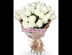 Светлые слова (31 белая роза)