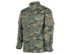 Китель US field jacket ACU, rip stop, digital woodland