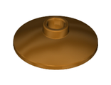 Dish 2 x 2 Inverted (Radar), Metallic Gold (4740 / 6078236)