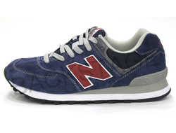 Мужские кроссовки New Balance 574 Blue/Red