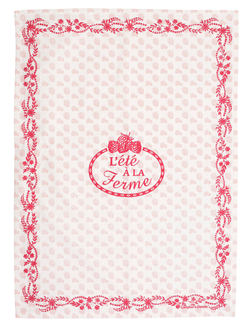 КУХОННОЕ ПОЛОТЕНЦЕ 200455 KITCHEN TOWEL W/JAR ?T? TOR-COLLEC PINK 50X70CM