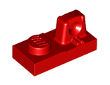 Hinge Plate 1 x 2 Locking with 1 Finger On Top, Red (30383 / 4185150 / 4518438 / 6034633)