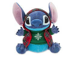 Стич (Ститч) в свитере и жилетке / Disney Stitch Holiday Plush