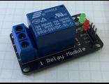 Одноканальное управляемое реле со светодиодной индикацией