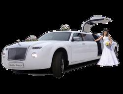 Прокат Лимузина Rolls-Royce на свадьбу