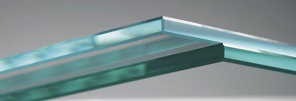 образец стекла с еврокромкой