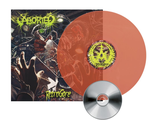 ABORTED Retrogore NEON ORANGE LP + CD