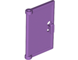 Door 1 x 2 x 3 with Vertical Handle, New Mold for Tabless Frames, Medium Lavender (60614 / 6138507)