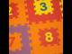 Игровой коврик-пазлы с цифрами Funkids Цифры