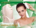 Массажер для волос US MEDICA Emerald Shine