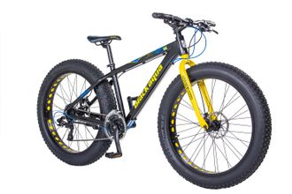 FAT BIKE BLACK AQUA 26Х4
