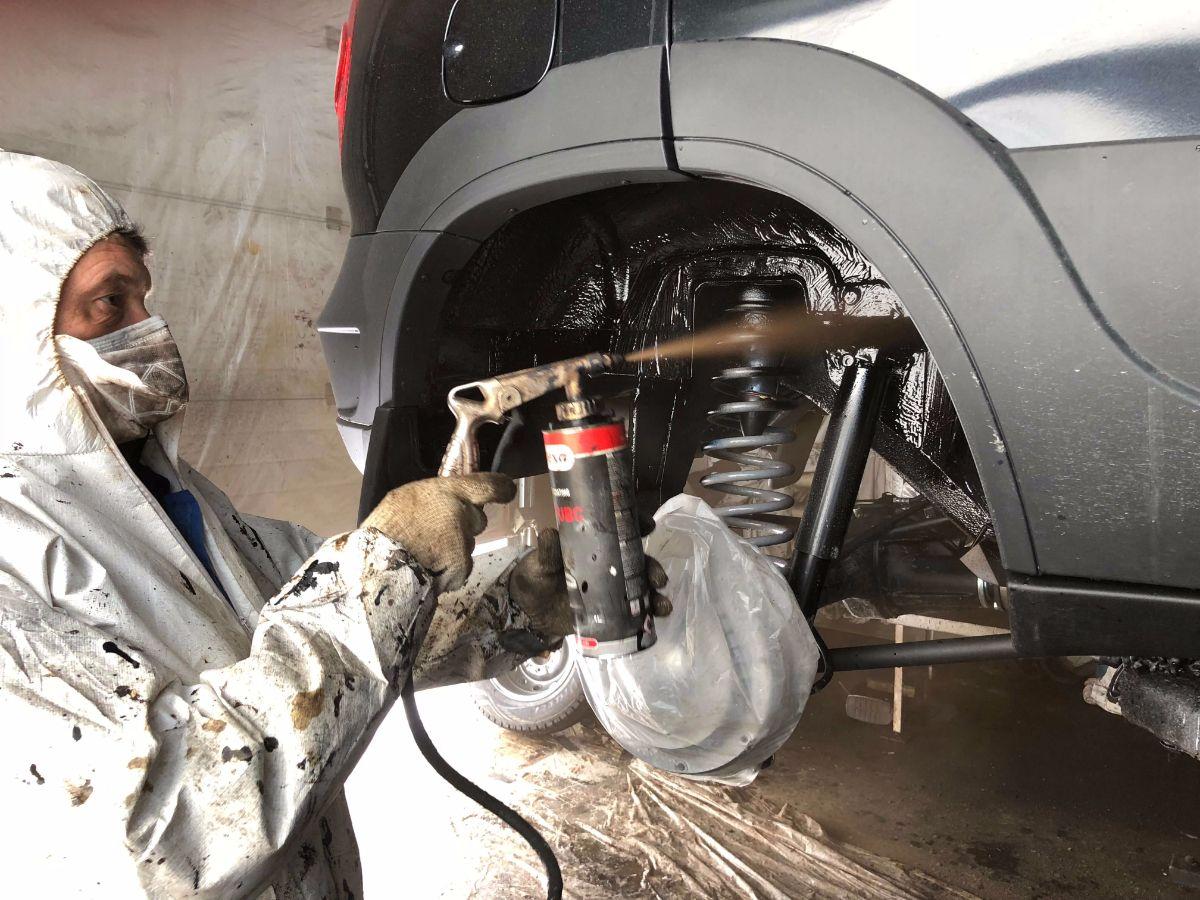 Как сделать антикор для автомобиля 660