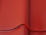 Металлочерепица SAIMAA MONTERREY POLYESTER RR29 (красный)