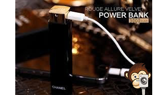 Power Bank Chanel Lipstick 3000 mAh-2