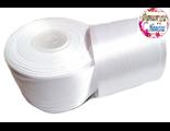 Лента белая 50мм (001)
