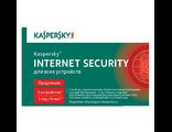 Карта Kaspersky Internet security для всех устройств. 3-Desktop 1 year KL1941ROCFR
