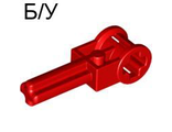 ! Б/У - Technic Pole Reverser Handle, Red (6553 / 4143148) - Б/У