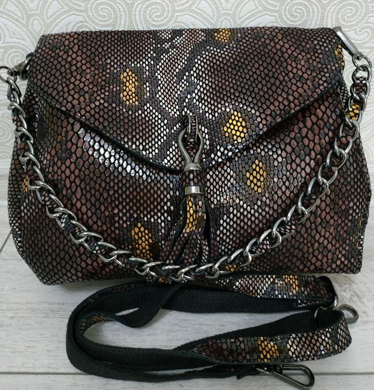 98964b8e1933 Кожаную женскую сумку из лазерной кожи купить недорого, дешевые цены ...