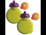 Силиконовая бутылочка для детского питания Beaba Babypote Green