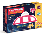Magformers My First Buggy Car Set - Pink Магформерс Багги авто - розовый