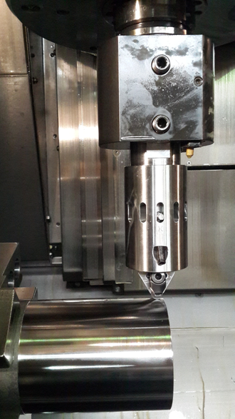 BURNISHING TOOL  ST-10 WITH A REPLACEABLE CBN INSERT