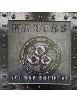 MANTAS - Zero tolerance LP Silver