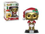 Фигурка Funko POP! Bobble: Star Wars: Holiday: C-3PO as Santa