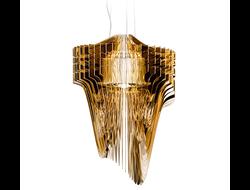 Люстра Slamp Aria Gold by Zaha Hadid