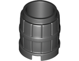 Container, Barrel 2 x 2 x 2, Black (2489 / 6300358)