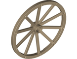 Wheel Wagon Giant  56mm D. , Dark Tan (33212 / 6037585)