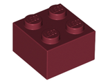 Brick 2 x 2, Dark Red (3003 / 4249850 / 4539104)