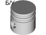 ! Б/У - Technic Engine Piston Round, Dark Gray (2851) - Б/У