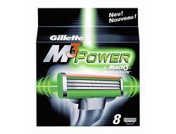 Gillette M3 Power - 8 шт.