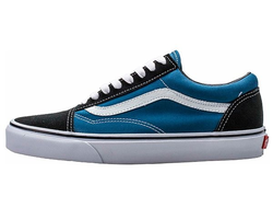 "Vans ""Old Skool"" Low Men Blue/White (36-45) арт-018"