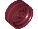 Wheel 30mm D. x 14mm (for Tire 43.2 x 14), Dark Red (56904 / 6191986)