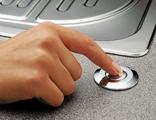 Кнопка пневматического управления (пневмокнопка) #72218 хром.