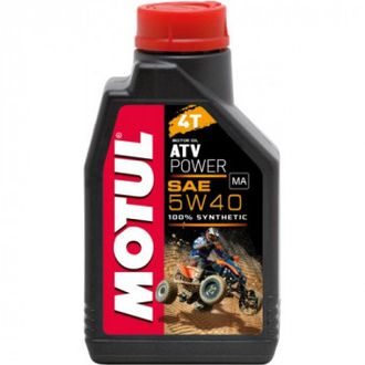 Масло моторное Motul 4Т ATV Power 5w-40 синт. (1л.)