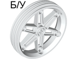 ! Б/У - Wheel 61.6mm D. x 13.6mm Motorcycle, White (2903 / 290301) - Б/У
