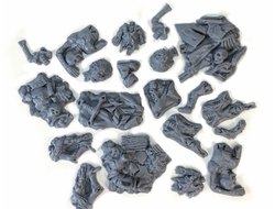 Dungeon remains and relics (unpainted)