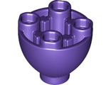 Brick, Round 2 x 2 Dome Bottom with Studs, Dark Purple (24947 / 6145298)
