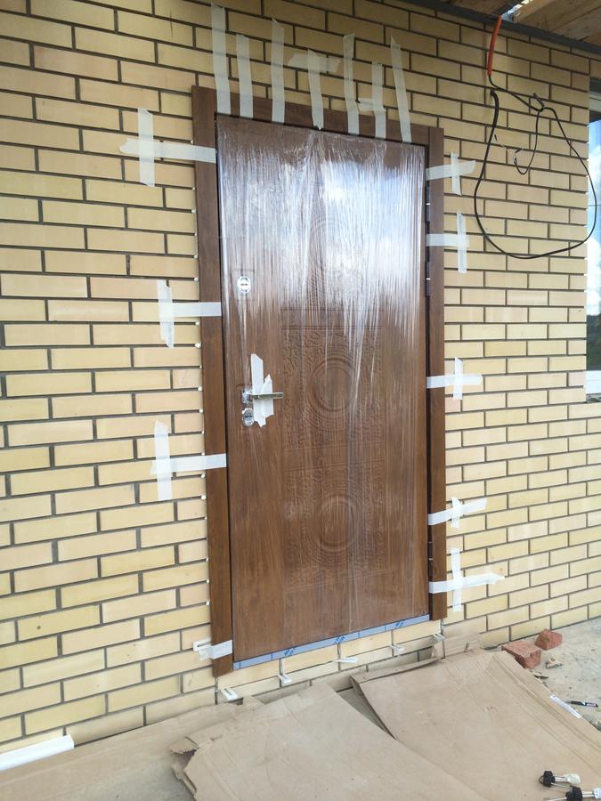 металлическая дверь с установкой домодедово