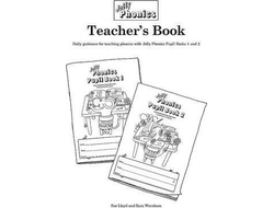 Jolly Phonics Teacher's Book (black & white edition)  in Precursive Letters