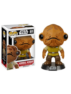 Funko Pop! Star Wars: Episode VII - The Force Awakens Admiral Ackbar - Фанко Поп! Эпизод 7 Адмирал Акбар