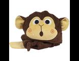 Детское полотенце с капюшоном Zoocchini Обезьяна Чиппи Chippy the Chimpanzee