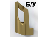 ! Б/У - Technic, Panel Fairing # 5 Small Short, Large Hole, Side A, Metallic Gold (32527 / 4144143) - Б/У
