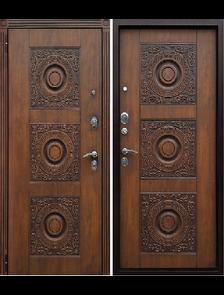 Металлическая дверь Юг Милано (Круг) Vinorit