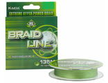 Шнур плетеный Kaida Braid Line зеленый 135м