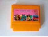 Картридж Dendy TV GAME SUPER HIK 1994 сборник 4IN1 (CHIP&DALE 2 + TURTLE NINJA + TALES PIN PED PIG + BOAT DUEL)