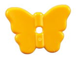 Friends Accessories Butterfly with Stud Holder, Bright Light Orange (93081a / 4625279)